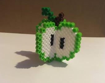 3D Perler Art - Green Apple