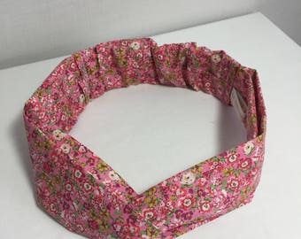 Pink liberty adult headband