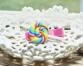 Colorful lollipop toddler hair clip, baby hair clip, girl hair accessories