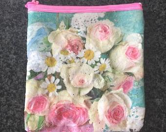 Paper napkin coin purse