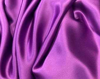 "3.75yd Silk Charmeuse 54""w Light Purple"