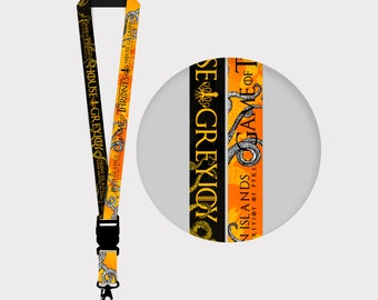 Game of Thrones  House Greyjoy Lanyards