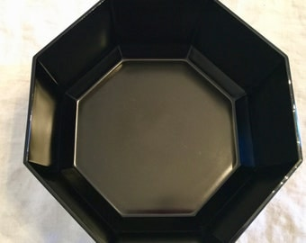 Large Arcoroc Octagonal Salad or Fruit Bowl