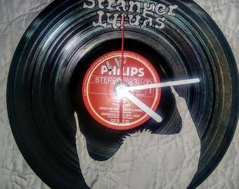Stranger Things Vinyl Record Clock