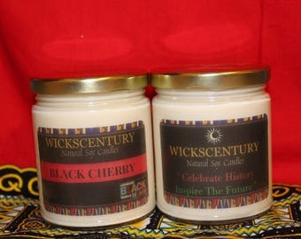 Black History Month Candles