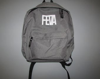 Grey Feva Backpack