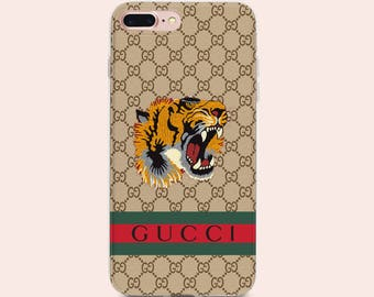 Gucci Case Iphone X Case Gucci Tiger Iphone 7 Case Iphone 8 Plus Case Gucci logo Iphone 8 Case Iphone SE Case Iphone 6 Case Samsung S8 cover