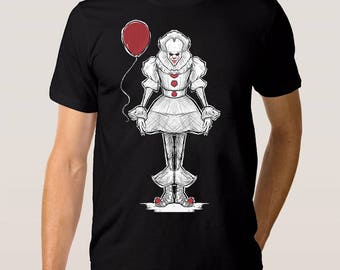 Pennywise 'IT' T-Shirt, All Sizes