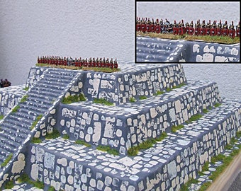 6mm/15mm/28mm PYRAMID! Over 30cm square! Pro-Painted