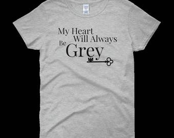 My Heart Will Always Be Grey-Fifty Shades Inspired