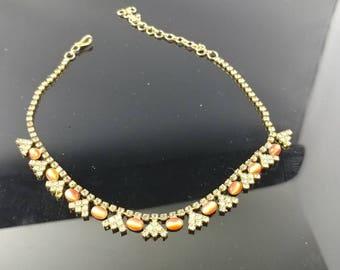Vintage cabochone necklace