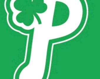 Phillies pattys day shirt