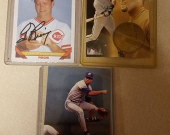 Three Baseball Cards