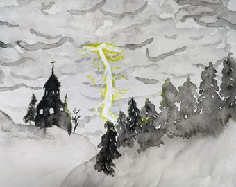 Gothic Watercolor