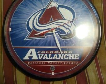 Colorado Avalanche Wall Clock