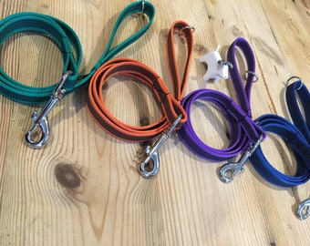 Rubber Gripper Dog Leads