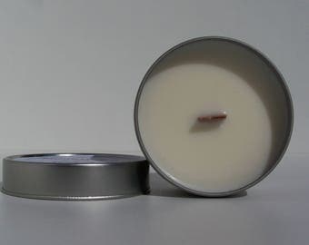 Soywax candle infused with essentile oils