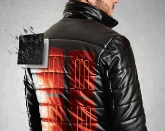 Heated Leather Jacket ( World's first heated leather jacket )
