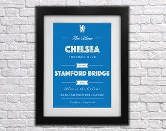 Chelsea FC Club Print