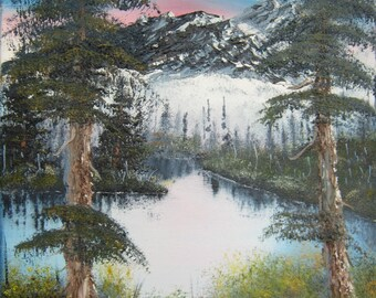 "Original Oil Painting - ""The Sentinels"" -Landscape"