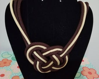 Sailor's knot necklace
