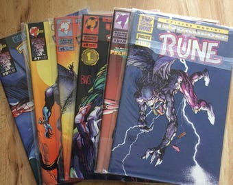 Ultraverse Rune Comic Book