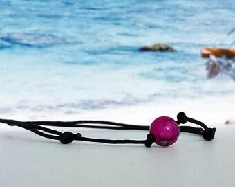 Nylon Bracelet-Glass bead