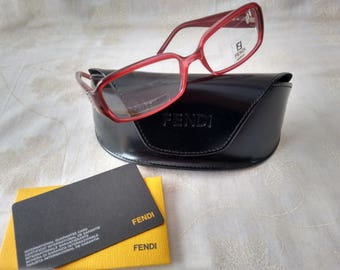 Fendi Pink Spectacle/Glasses Frames suitable for your own perscription