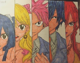 Fairy Tail Drawing