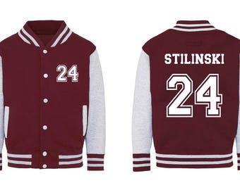 Teen Wolf Beacon Hills Lacrosse Jacket Stinlinski 24 Jacket