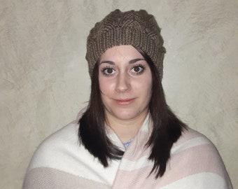 Hat, wool, Brown, woman