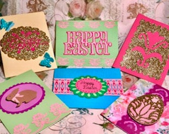 Pack of Five Easter Cards by Little Boxes Design Co.