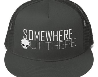 SOMEWHERE OUT THERE - Mesh Back Snapback