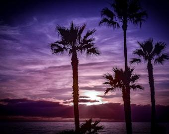 Oceanside, California March Sunset