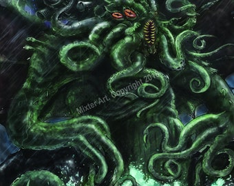 Rise of Cthulhu Poster