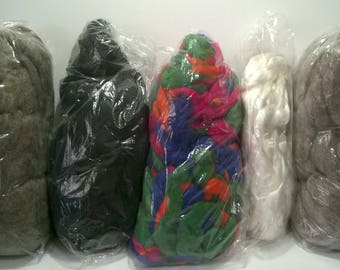 Spinzilla Fiber Pack - August - Spinning- Comb top-Roving