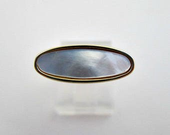 Avon Ring - Vintage Avon Mother-of-Pearl Ring in Box - Size 8 Ring  - Vintage 1978 Avon Jewelry