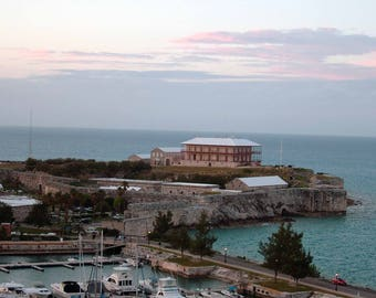 Bermuda Royal Navy Port at Sunset