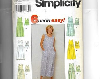 Simplicity  Misses' Dress Pattern 8657