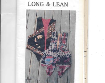 Vest Long & Lean Pattern 2610