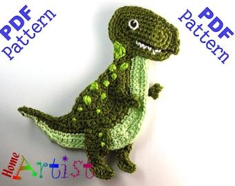 Trex Dino crochet pattern