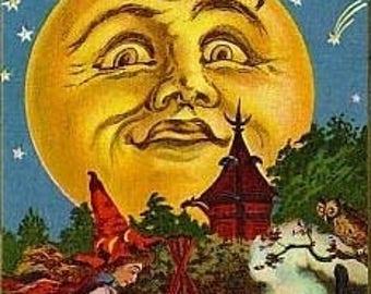 Halloween Time Cross Stitch Pattern PDF