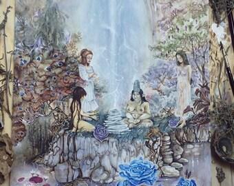 Original Art / Mythology / Fantasy - 'Thunder Gods'