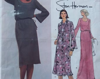 Vintage Very Easy Vogue pattern 1523 size 18 bust 40 retro misses dress 1970s