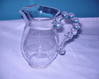 Imperial glass Candlewick pitcher