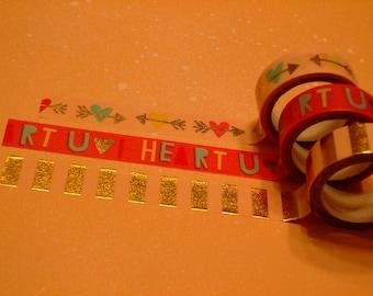 Decorative Washi Tape Set - You + Me