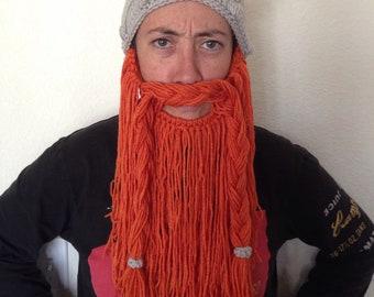 Bearded viking helm - adult