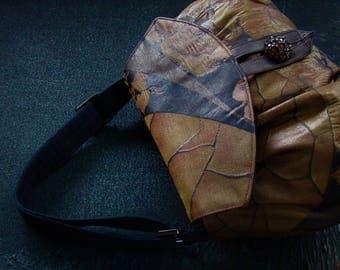 Cocoon bag (S) - Bronze
