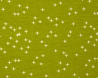Birch ORGANIC FABRIC - Mod Basics 3 Knit - Wink in Grass