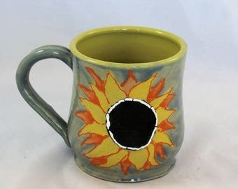 Sunflower Handcrafted Ceramic Mug